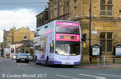 First 33887 (SN14TVV), Lowtown, Pudsey, 14th October 2017