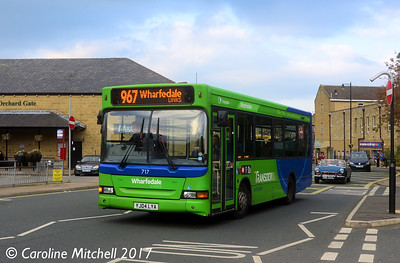 Transdev Keighley 717 (YJ04LYA), Crossgate, Otley, 15th October 2017