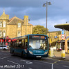 Arriva Yorkshire 1054 (YJ09CTZ), Church Lane, Pudsey, 14th October 2017