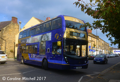 First 33484 (YX66WKG), Otley, 15th October 2017
