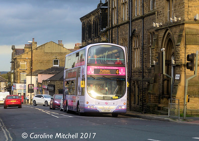 First 37220 (YJ09OBR), Lowtown, Pudsey, 14th October 2017