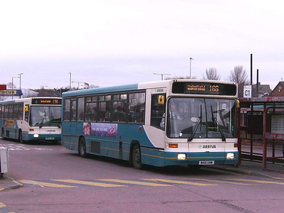 Arriva Yorkshire Volvo B10B 416 (M416UNW), Castleford Bus Station, 30th November 2006