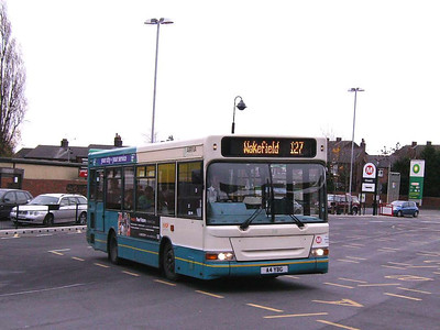 Another Dennis Dart MPD seen at Ossett on 30th November was 219 (A4YBG)