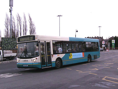 Also at Ossett Bus Station was Arriva Yorkshire 440, an Alexander bodied DAF SB220