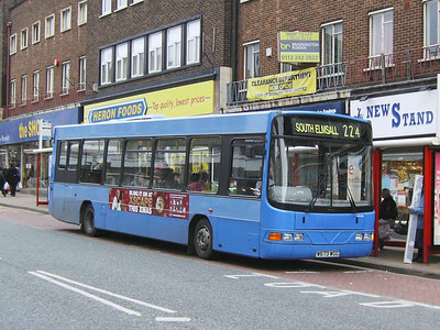 In Wakefield BL Travel W673WGG, a Wright bodied Volvo B6BLE, was seen