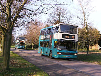 Optare Spectra 629 (T629EUB) on the way down to Bretton Campus, 29th November 2006
