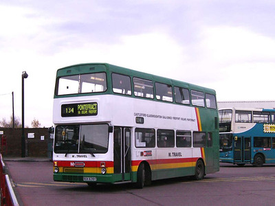 Another M Travel MCW Metrobus is 06 (ROX639Y)