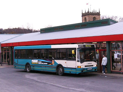 Similar bus 16 (PIL9730), Dewsbury, 30th November 2006