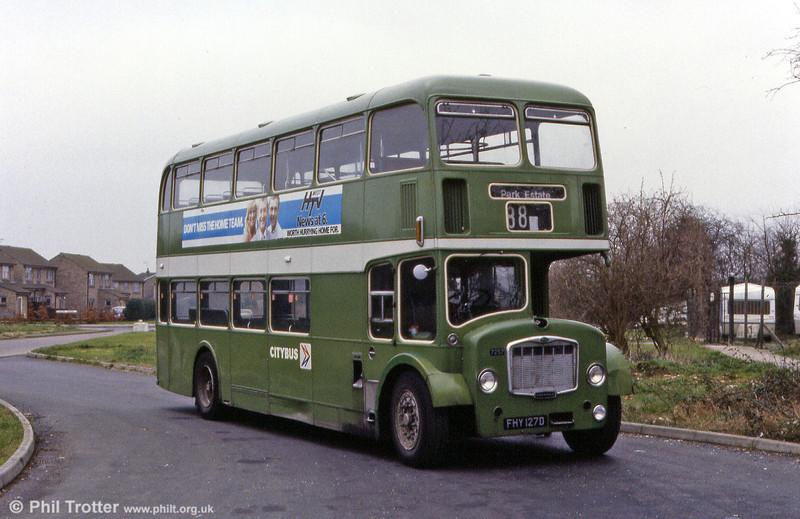 1966 Bristol FLF6G/ECW H38/32F 7257 (FHY 127D).
