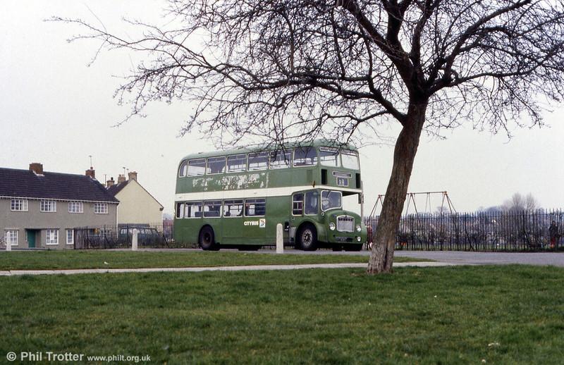 1965 Bristol FLF6G/ECW H38/32F 7236 (EHT 858C).