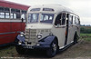 Nostalgia Travel's 1949 Bedford OB C29F Seater LYB 941, which was new to Tor, Street.