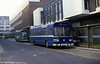3026 (KHT 124P), a 1976 Leyland National/B52F seen in City of Gloucester blue livery at Gloucester in February 1986.
