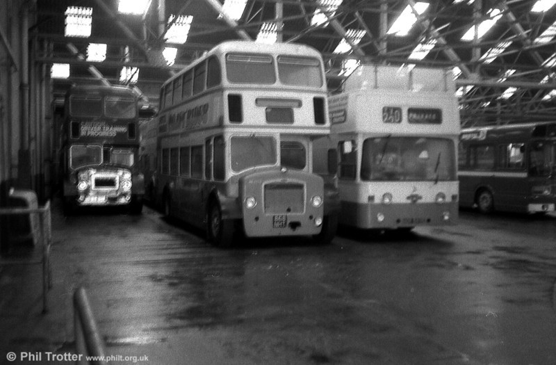 Bristol's Weston Super Mare depot was home to this 1961 Bristol FS6G/ECW CO33/27R 8578 (868 NHT).