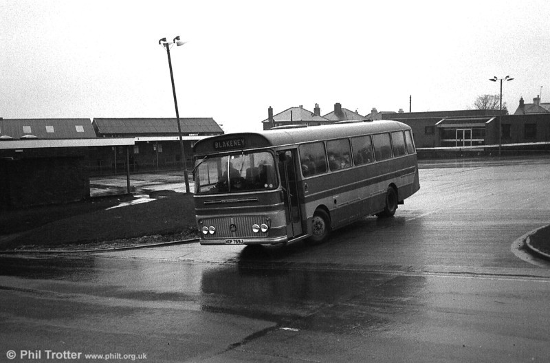 Soudley Valley, Cinderford had this 1971 Bedford YRQ/Willowbrook DP45F.