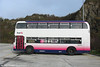 A profile view of First Devon and Cornwall's 38847 (LFJ 847W), a Bristol VRT/SL3 new to Western National in 1980 as 1203.