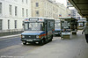 Cheltenham & Gloucester 625 (C625 SFH), a 1985 Ford Transit/Dormobile-Alexander B16F seen in February 1986.