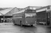 Western National  41 (HOD 41E), a 1967 AEC Reliance/Marshall B41F, seen at Brunswick St. depot of South Wales Transport.