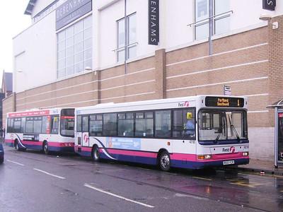 First 42180 (R610YCR), Weymouth, 19th April 2008