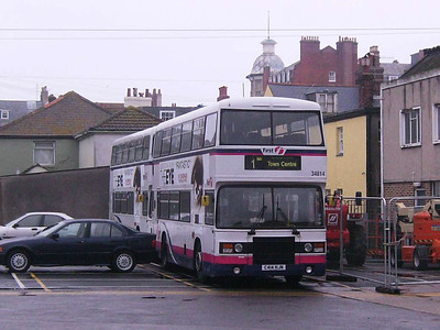 First 38414 (C414HJN), Weymouth, 19th April 2008
