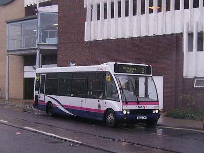 First 50271 (S302EWU), Weymouth, 19th April 2008