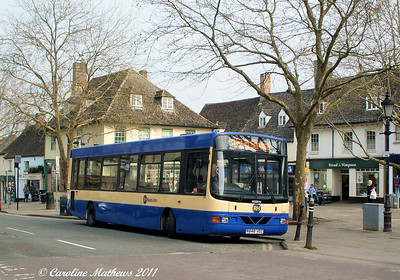 RH Buses 604 (R848VEC), Witney, 28th March 2011
