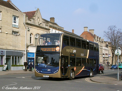 Stagecoach 15534 (VX59JCY), Witney, 28th March 2011