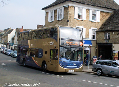 Stagecoach 15536 (VX59JDF), Witney, 28th March 2011