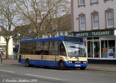 RH Buses 403 (MX55WDK), Witney, 28th March 2011