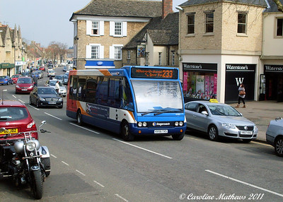 Stagecoach 47453 (KX56TXS), Witney, 28th March 2011