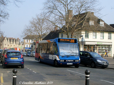 Stagecoach 47452 (KX56TXR), Witney, 28th March 2011