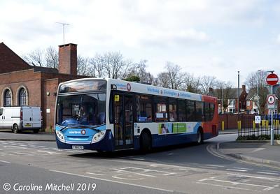Stagecoach 28611 (FX61CYU), Worksop, 1st April 2019