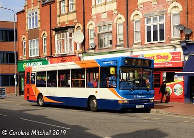 Stagecoach 34702 (PX05ENE), Newcastle Avenue, Worksop, 1st April 2019
