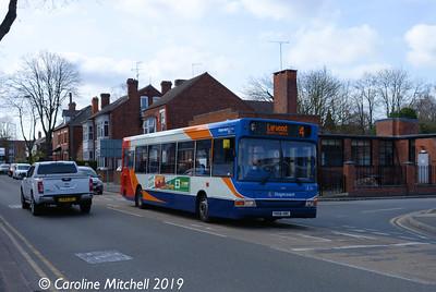 Stagecoach 35135 (YN56HBC), Watson Road, Worksop, 1st April 2019