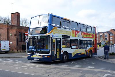Stagecoach 18054 (KX53VNE), Worksop Bus Station, 1st April 2019