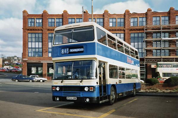 424 B524UWW, Leeds 3/11/1990