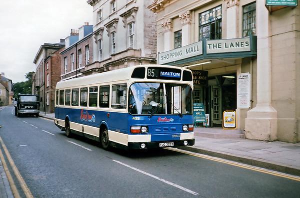 423 FUG323T, Malton 16/8/1991