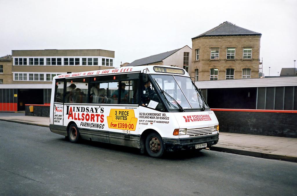 2021 E221PWY, Huddersfield 4/2/1991