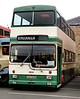 West Yorkshire PTE 2612 HUA563N, Dewsbury 4/5/1992