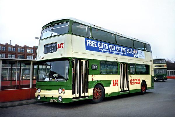 592 SUG592M, Leeds 7/2/1992