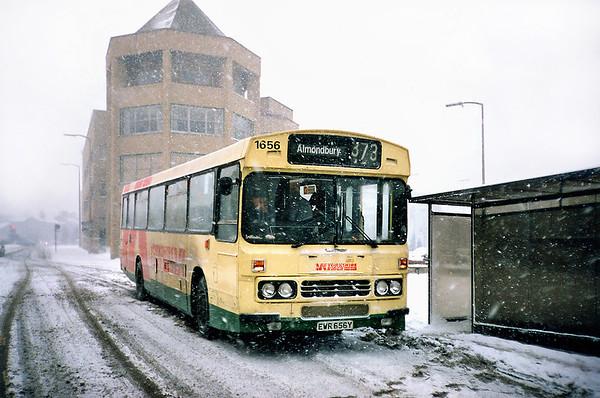 1656 EWR656Y, Huddersfield 7/2/1991