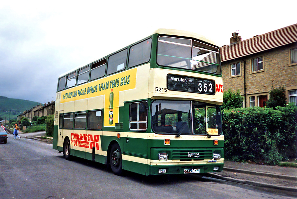 5215 G615OWR, Marsden 25/6/1991