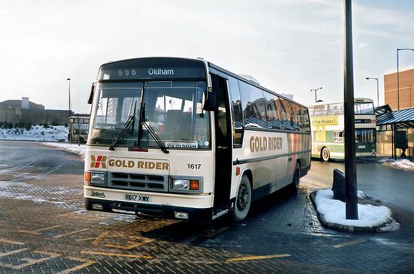 1617 F617XWY, Halifax 14/2/1991