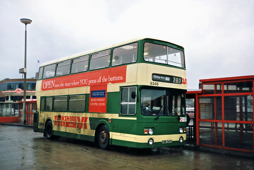6348 VWW348X, Leeds 22/2/1991