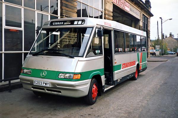 2003 E203PWY, Huddersfield 9/5/1991