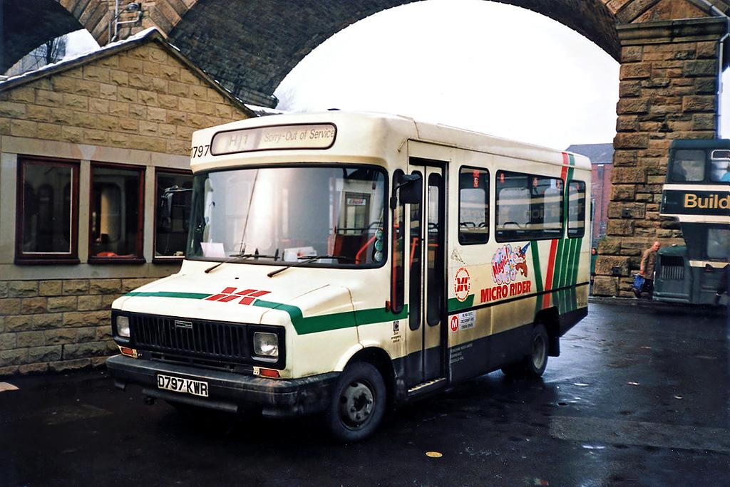 1797 D797KWR, Todmorden 2/2/1991