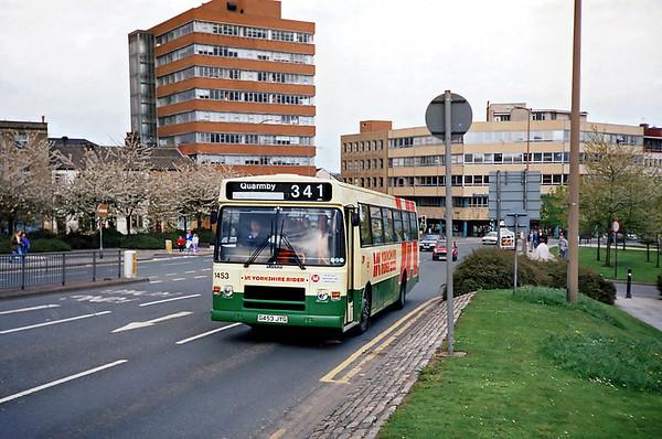 1453 G453JYG, Huddersfield 20/4/1991
