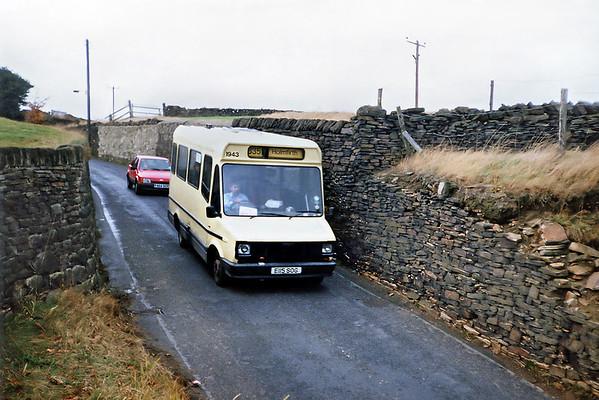 1943 E115SOG, Thongsbridge 2/11/1991