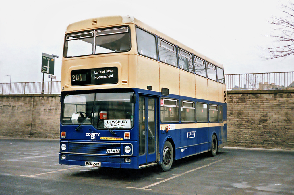 724 BOK24V, Huddersfield 3/2/1991