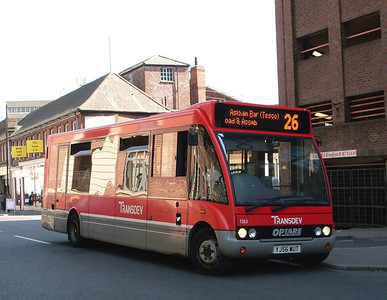 Transdev 1263 (YJ56WUT), York, 22nd May 2010