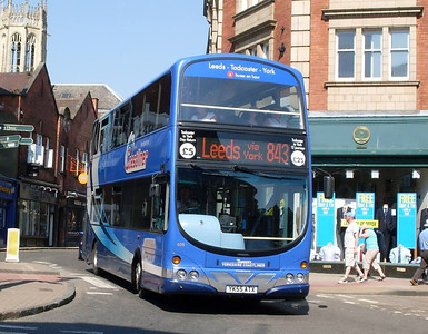 Yorkshire Coastliner 409 (YK55ATX), York, 22nd May 2010